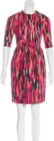 Jonathan Saunders Printed Mini Dress