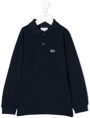 Lacoste Kids Logo Patch Polo Shirt