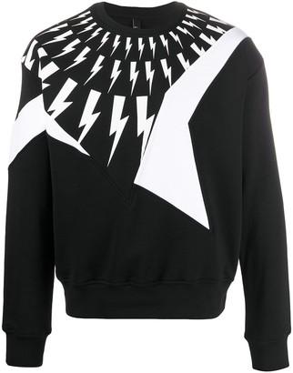Neil Barrett Thunderbolt sweatshirt