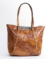 Patricia Nash Signature Map Collection Benvenuto Tote