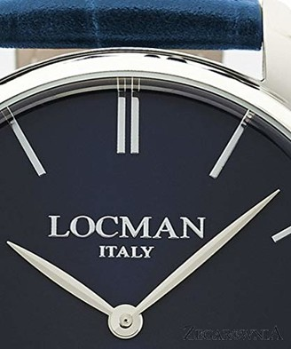 Locman Analog Quartz Watch with Stainless Steel Strap Clear 3 (Model: 4580579743004)