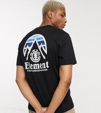Element Tri Tip t-shirt in black Exclusive at ASOS