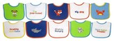 Hamco Neat Solutions Knit/Terry Embroidered Boy Sayings Bibs-10PK