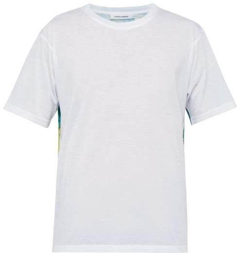 Craig Green Floral Print Cotton T Shirt - Mens - Green