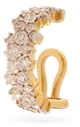 Ana Khouri Mirian Diamond And 18kt Gold Clip Ear Cuff - Diamond