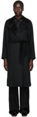 Max Mara Black Manuela Icon Coat