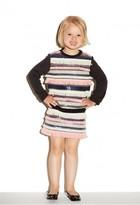 Milly Minis Sequin Fringe Combo Sweatshirt