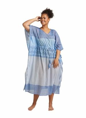 Zizzi Women's Kurzarm Kleid Dress