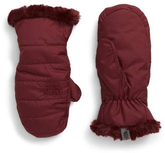 The North Face Mossbud Swirl Reversible Water Resistant Mittens