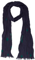 Bonpoint Boys' Star Print Scarf w/ Tags