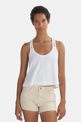 The Range White Knit Swing Tank