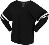 Unbranded Women's Black Alabama Crimson Tide Pom Pom V-Neck Long Sleeve T-Shirt