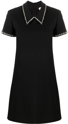 Dorothee Schumacher Emotional Essence crystal-embellished dress
