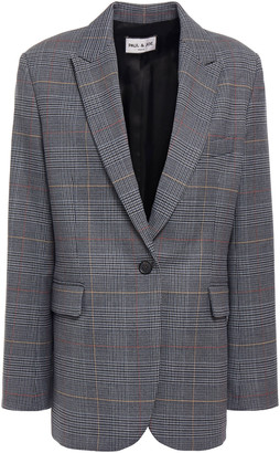 Paul & Joe Cora Prince Of Wales Checked Jacquard Blazer