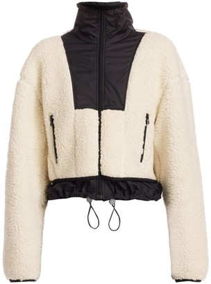 3.1 Phillip Lim Faux Shearling Drawstring Jacket