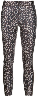 Golden Goose leopard print leggings