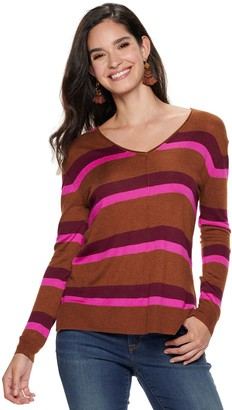 Apt. 9 Women's V-Neck Pullover Sweater