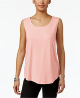 JM Collection Scoop Neck Tank Top, Only at Macy's