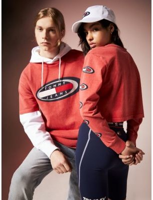 Tommy Hilfiger Tommy Jeans Summer Heritage Cropped Sweatshirt