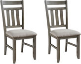 Asstd National Brand Haverford Set of 2 Dining Chairs