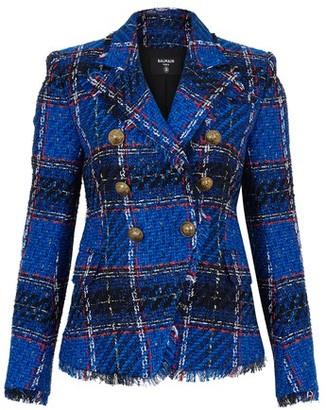 Balmain 6 Button Tweed Jacket