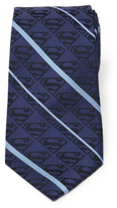 Cufflinks Inc. Men's Superman Striped Silk Tie