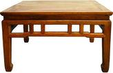 One Kings Lane Vintage Antique Chinese Elm Wood Coffee Table