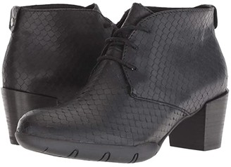 Wolky Bighorn (Black) Women's Dress Lace-up Boots