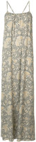 Vince printed maxi dress - women - Silk - S