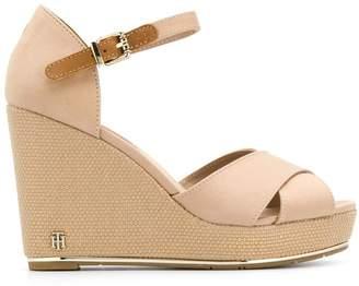 Tommy Hilfiger high wedge sandals