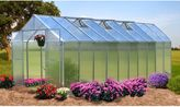 Bed Bath & Beyond Riverstone Monticello Extruded Aluminum Residential 8-Foot x 20-Foot Greenhouse