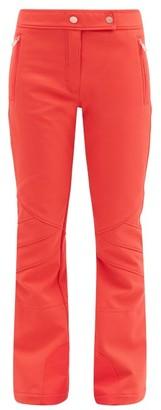 Toni Sailer Sestriere New Soft-shell Ski Trousers - Red Multi