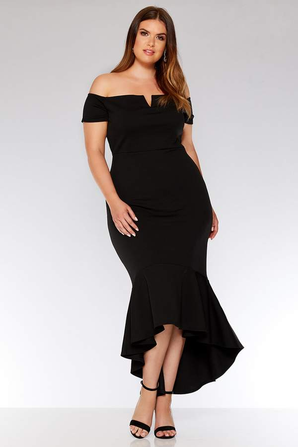 8a5750a62ca Plus Size Dip Hem Dress - ShopStyle UK