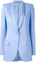 Stella McCartney twill blazer - women - Wool/Cotton/Viscose - 38