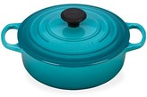 Thumbnail for your product : Le Creuset Signature Round Wide Oven
