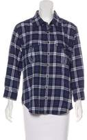 Ever Plaid Long Sleeve Button-Up