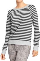 Old Navy Women's Terry-Fleece Raglan Tops