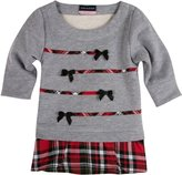Andy & Evan Christmas Plaid Tunic (Toddler/Kid) - Red-7
