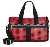 Lesportsac Checkered Small Weekender Bag