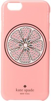 Kate Spade Jeweled Grapefruit iPhone Case for iPhone 6