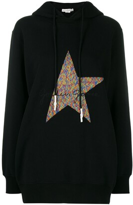 Golden Goose Logo-Embroidered Hoodie