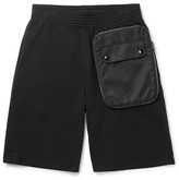 Givenchy Shell-Trimmed Cotton-Jersey Shorts