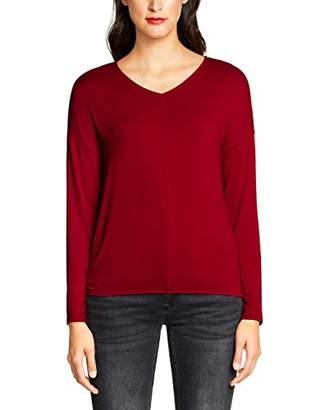 Street One Women's 314211 Ramona Longsleeve T-Shirt,8 (Size: 34)