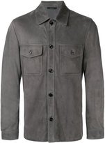 Tom Ford button-up shirt - men - Lamb Skin - 50