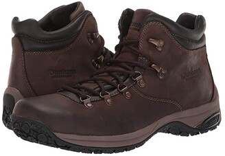 Dunham Ludlow Waterproof Plain Toe Boot (Brown) Men's Boots