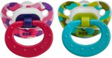 NUK Trendline Silicone Orthodontic Pacifier, Size 1, Colors May Vary, 2-Count (Discontinued by Manufacturer)