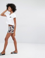Noisy May Kicks Back Printed Shorts