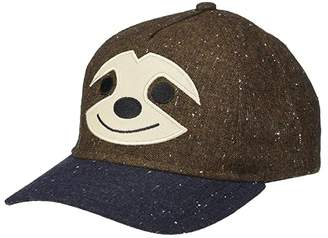 San Diego Hat Company Kids Sloth Ball Cap (Little Kids/Big Kids) (Brown) Caps