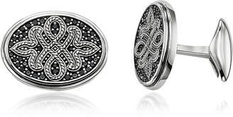 Thomas Sabo Blackened Sterling silver Love Knot Cufflinks