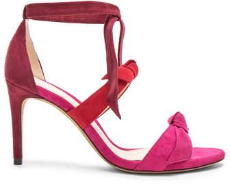 Alexandre Birman Suede Lolita Heels